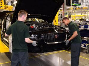 Jaguar manufacturing facility