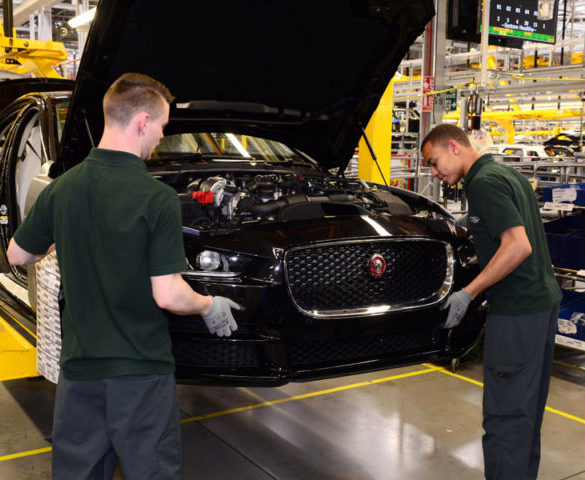 "JLR blames ""continuing headwinds"" for further production cuts"
