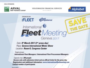 Poster with logo for next year's International Fleet Meeting