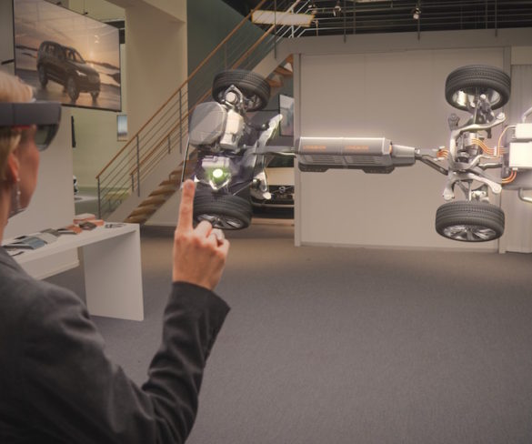 Volvo's global fleet customers given chance to interactively explore new S90