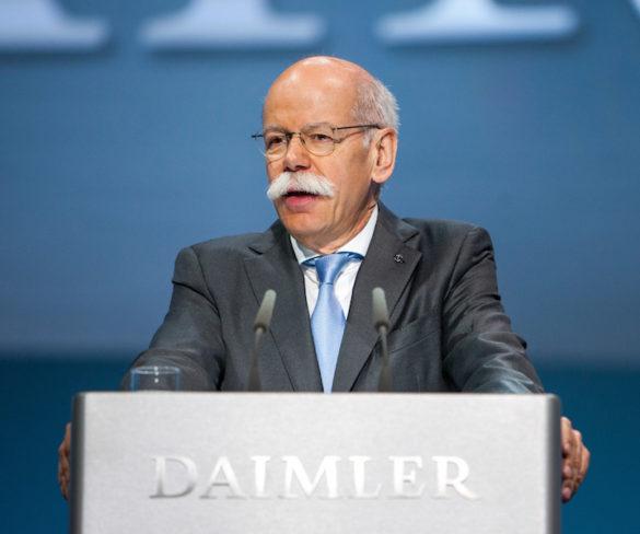 Dieter Zetsche re-elected ACEA president for 2017
