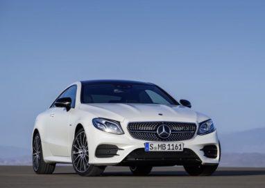 Mercedes reveals E-Class Coupé