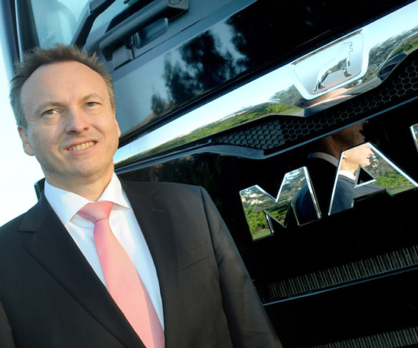 MAN Truck & Bus UK names new MD