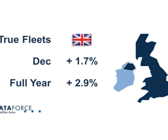 UK true fleet market up 2.9% during turbulent 2016