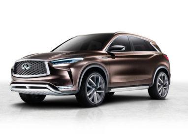 Infiniti reveals QX50 Concept ahead of Detroit debut
