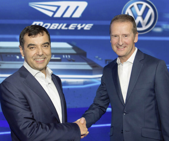 VW and Mobileye ink deal on 'super navigation data' for autonomous driving