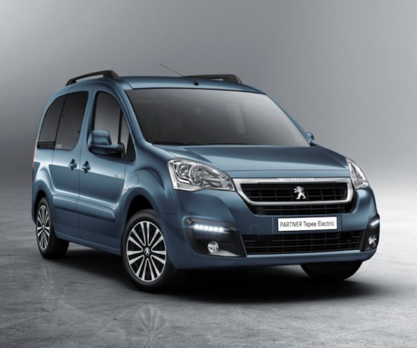 Electric Peugeot Partner Tepee to bring 170km range