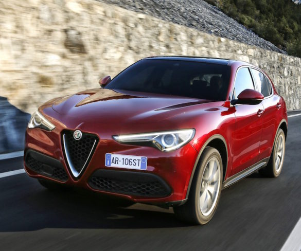 Alfa Romeo Stelvio line-up revealed
