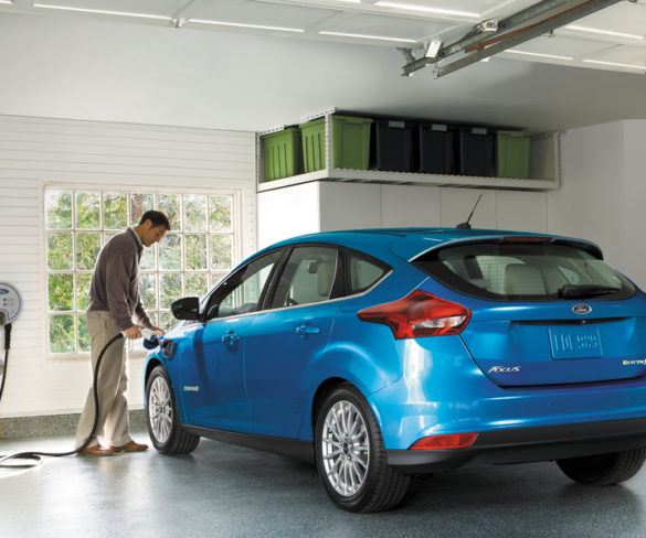 Ford Focus Electric gains 225km range and fast-charging tech