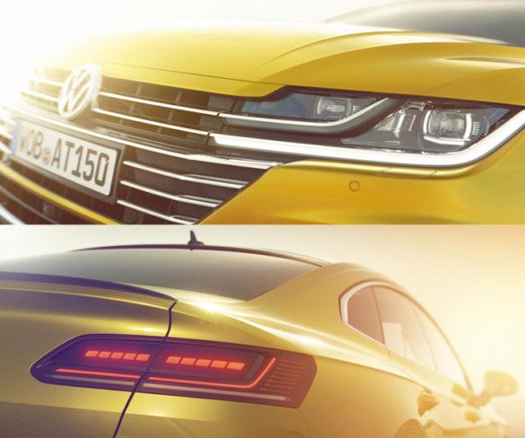 Volkswagen teases Arteon fastback ahead of Geneva debut