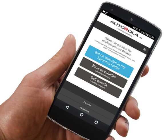 Autorola Group launches mobile used vehicle bidding