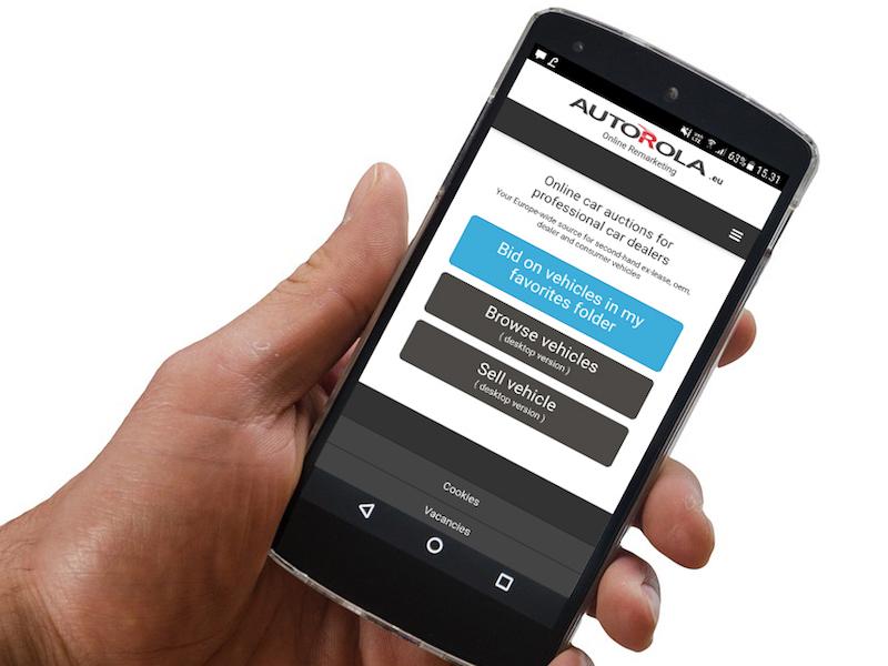Autorola Group Mobile Bidding