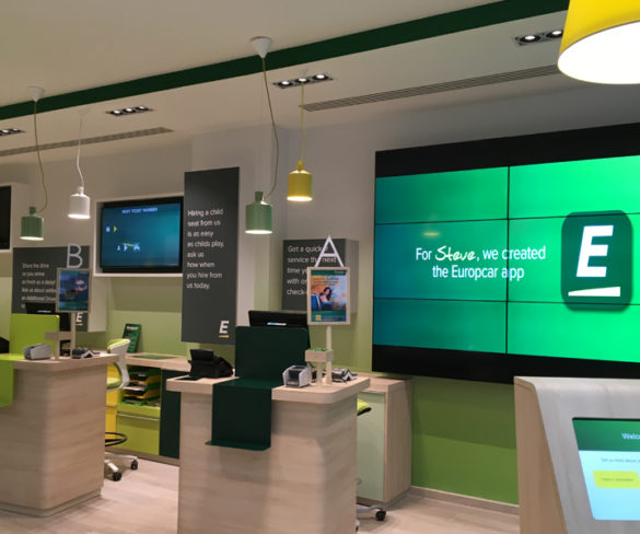 Europcar unveils flagship mobility station ahead of network rollout