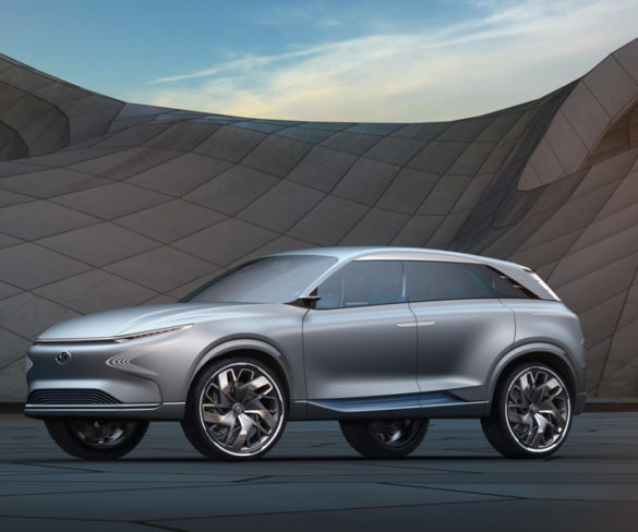 Hyundai FE Fuel Cell Concept has more than 800km range