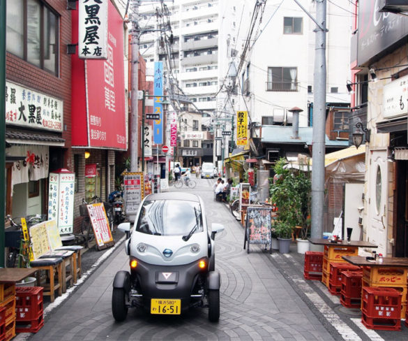 Electric car sharing service launches in Japan