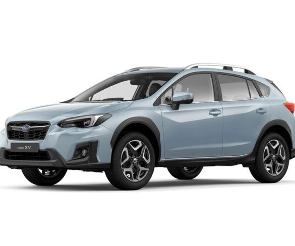 Subaru XV crossover on show at Geneva