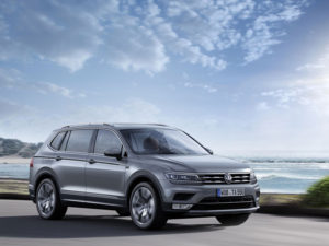 The Tiguan was the best-selling SUV in Europe in January.