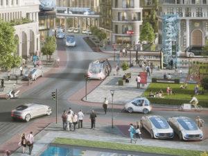 Bosch and Daimler autonomous vehicles