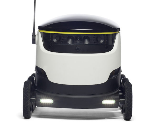 Hermes to trial self-driving delivery robots in London
