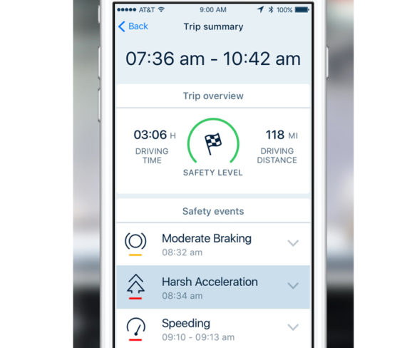 GreenRoad launches new safe driving mobile app