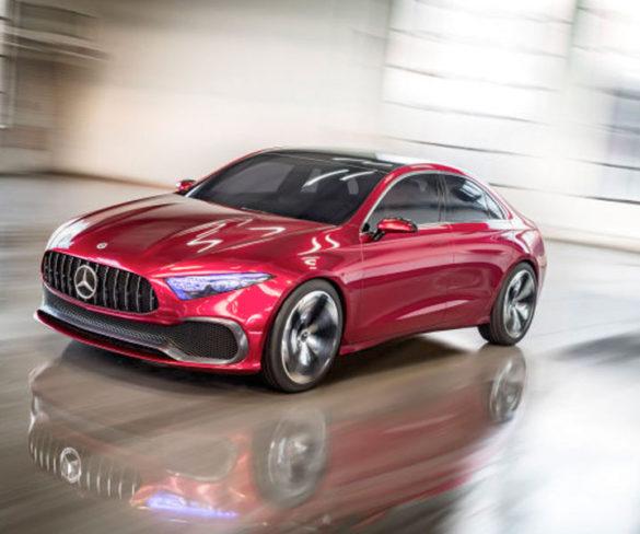 Mercedes previews A-Class saloon