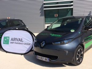 Arval and Schneider Electric have inaugurated a 12 EV fleet for Schneider employes to use between four sites in Grenoble.