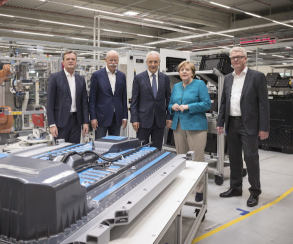 Daimler spearheads EV plans with latest battery plant