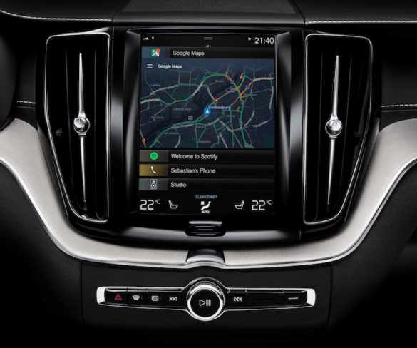 Volvo and Google to build Android-based infotainment system