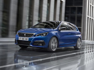 Facelifted Peugeot 308