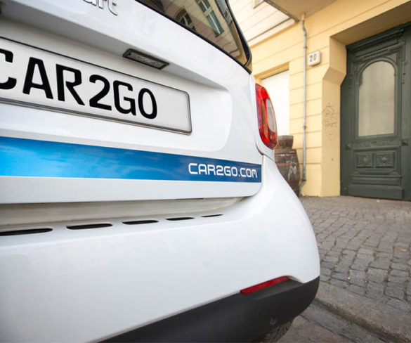 Daimler takes full control of Car2Go Europe