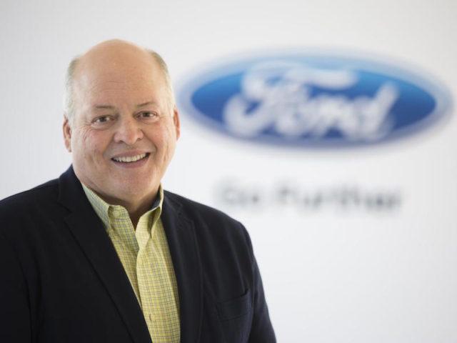 Jim Hackett, CEO, Ford