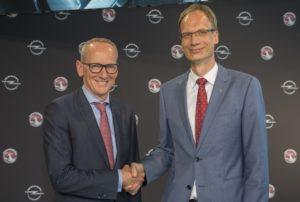 Dr. Karl-Thomas Neumann (left) and the new Opel CEO, Michael Lohscheller.