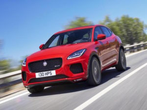 Jaguar's forthcoming E-Pace compact crossover