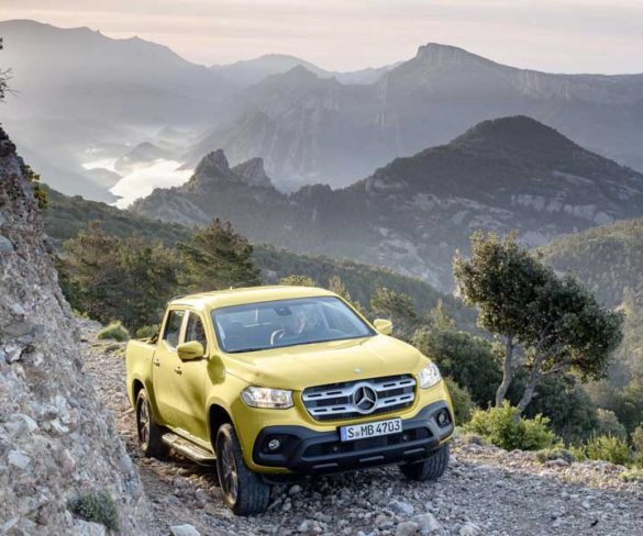 Spotlight: Mercedes X-Class makes its worldwide debut