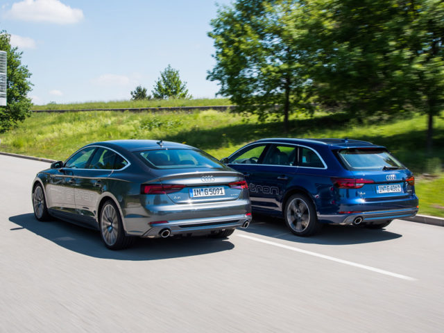 Audi launches new eco A4 Avant and A5 Sportback g-tron models