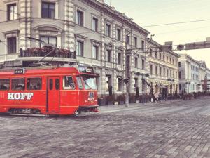 Finnish tram