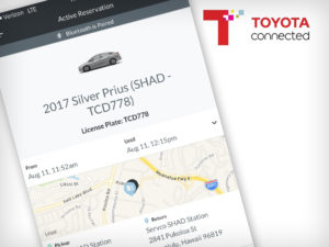 Toyota Servco car sharing app