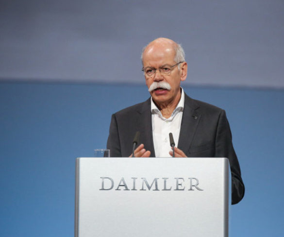 Daimler chairman Dieter Zetsche to step down in 2019