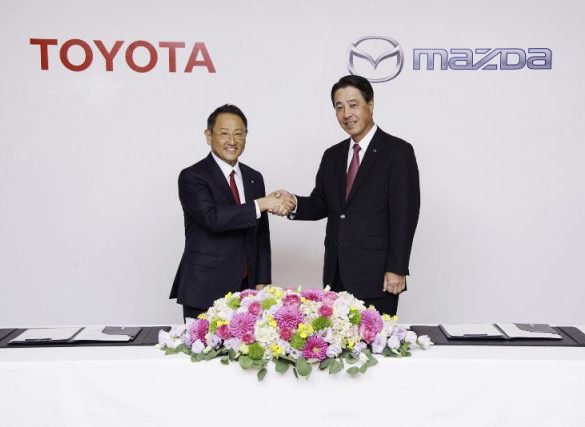 Toyota and Mazda to co-develop electric vehicle tech