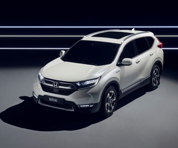 First images and details of Honda CR-V Hybrid Prototype revealed