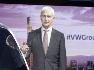 Matthias Müller, chairman, Volkswagen Group