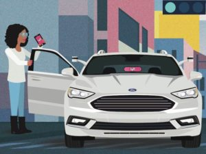 Ford and Lyft partnership