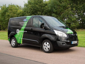 Ford Transit Plug-in Hybrid breaks cover ahead of London trials