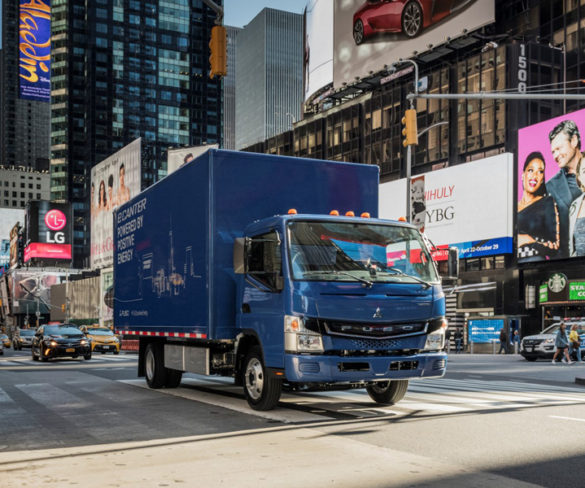 Fuso eCanter becomes first light EV truck with CCS rapid charging