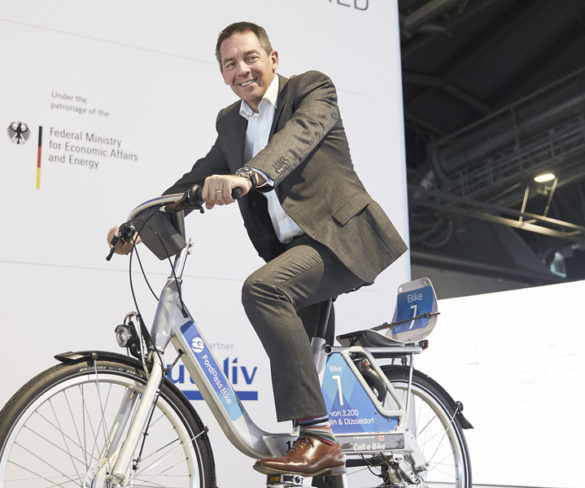 Ford and Deutsche Bahn turn hand to bike sharing
