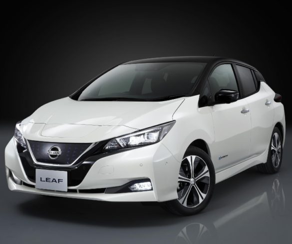 New Nissan LEAF breaks cover