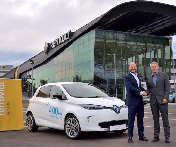 Renault teams up with Ferrovial for EV car sharing service in Madrid