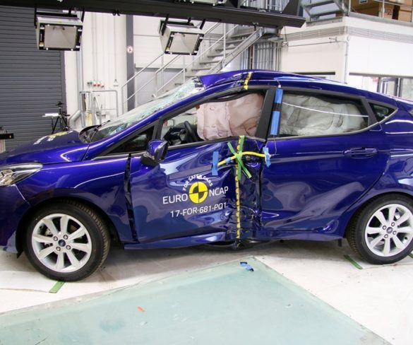 Five Euro NCAP stars for Fiesta, CX-5 and Grandland X