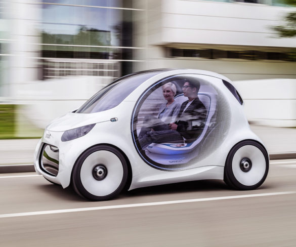 Smart showcases future electric and autonomous tech with EQ fortwo