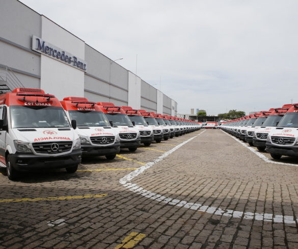 Brazilian Ministry of Health to deploy 800 Mercedes-Benz Sprinter ambulances
